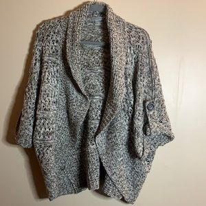 Warehouse One Brown Knit Cardigan XL